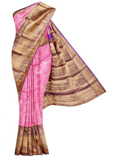 Vivaha Goddess Pure Kanchipuram Silk Saree - NEC2856259