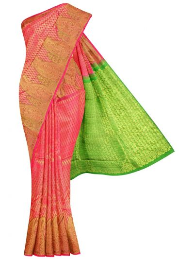 Vivaha Wedding Pure Kanchipuram Silk Saree - NFE6673940