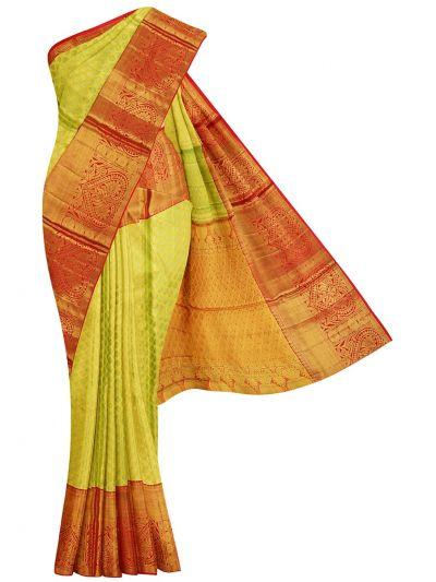 Vivaha Goddess Pure Kanchipuram Silk Saree - NGD1496425