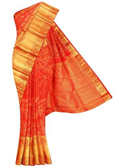 Vivaha Goddess Handloom Wedding Kanchipuram Silk Saree - NHB4614931