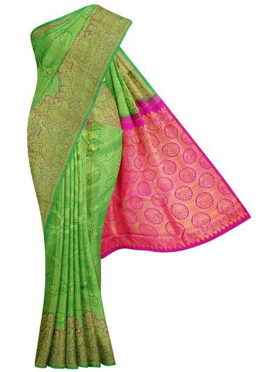 Vivaha Wedding Pure Kanchipuram Silk Saree - NHD5446560