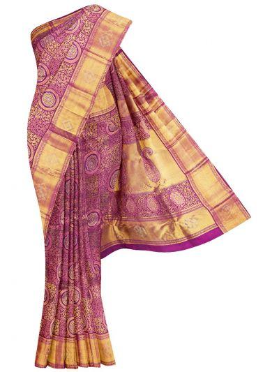 Vivaha Wedding Pure Kanchipuram Stone Work Silk Saree - NJB0110618