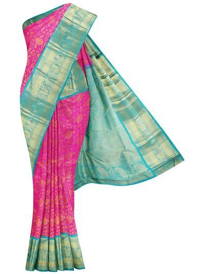 Goddess Vivaha Wedding Pure Silk Saree - NJB9935326