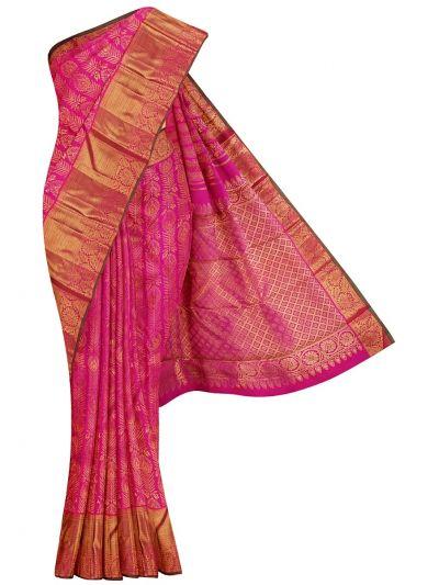 Vivaha Goddess Kanchipuram Pure Silk Saree - NJC0931657