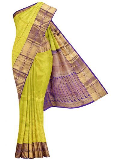 Vivaha Goddess Handloom Wedding Kanchipuram Silk Saree - NKB2879869