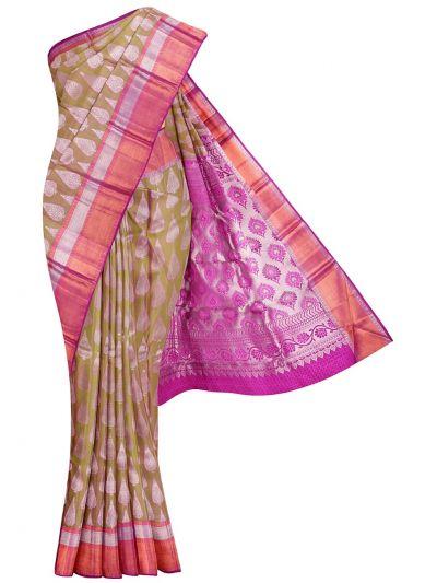 Vivaha Goddess Pure Kanchipuram Silk Saree - NKB3138108
