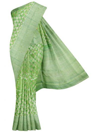 Vivaha Goddess Pure Kanchipuram Silk Saree - NKD419442