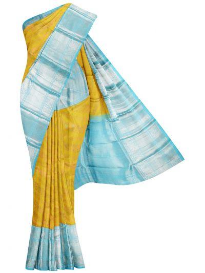 Vivaha Goddess Pure Kanchipuram Silk Saree - NKD4196048