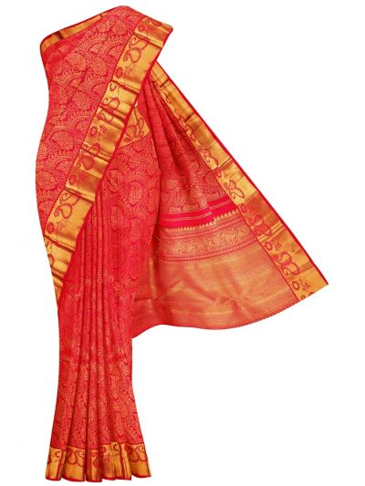 Vivaha Goddess Handloom Wedding Kanchipuram Silk Saree - NLA4837407