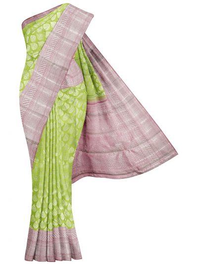 Vivaha Wedding Pure Kanchipuram Silk Saree - NLA4837419