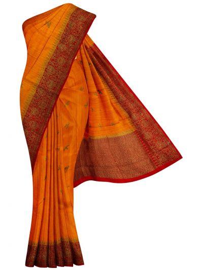 Banarasi Handloom Silk Saree - OAA0533817