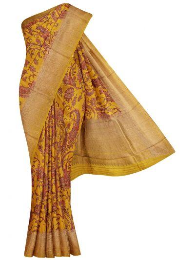 Fancy Tussar Printed Saree - OAA0598618