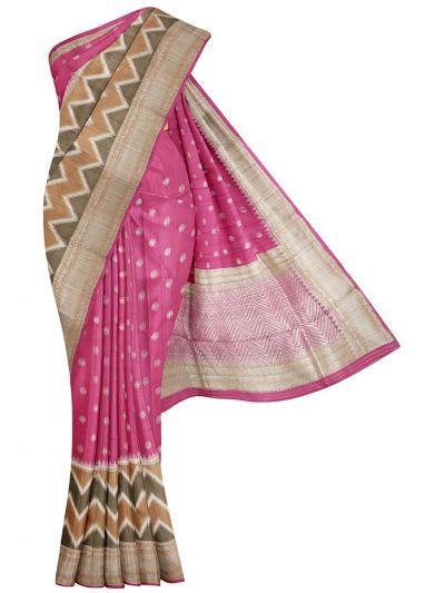 Chanderi Silk Saree - OAA0599499