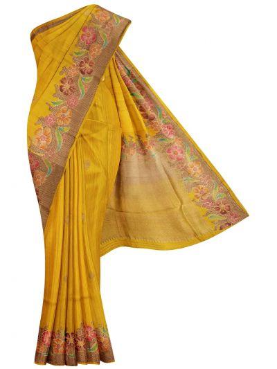 Chanderi Silk Saree - OAA0599507