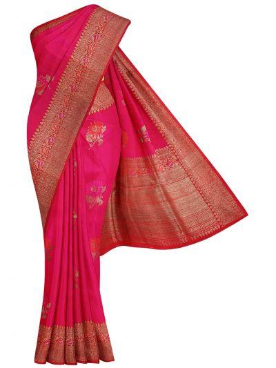 Banarasi Handloom Silk Saree - OAB1073147