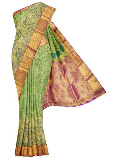 Vivaha Wedding Silk Stone Work Saree - OAC1818290