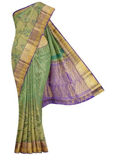 Vivaha Wedding Silk Stone Work Saree - OAC1818318