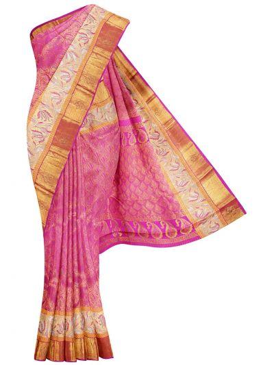 Vivaha Wedding Silk Stone Work Saree - OEA4765518