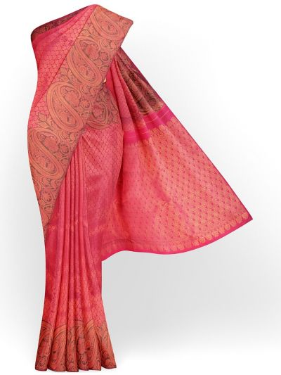 Estrila Exclusive Bridal Fancy Border Handloom Kanchipuram Silk Saree - MID4564155