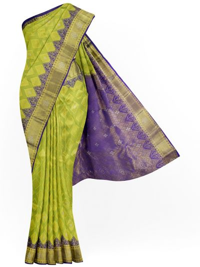 MJA6852281-Vivaha Stonework Wedding Pure Silk Saree