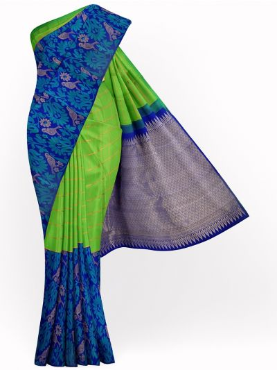 MJB7205767-Exclusive Vivaha Wedding Pure Silk Saree
