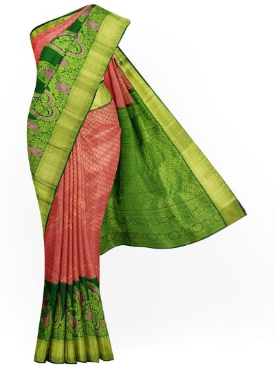 MJC7705397-Vivaha Wedding Pure Silk Saree