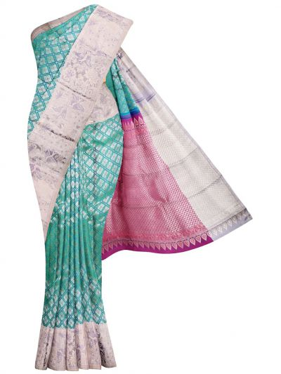 MKB9019375-Vivaha Exclusive Wedding Pure Silk Saree