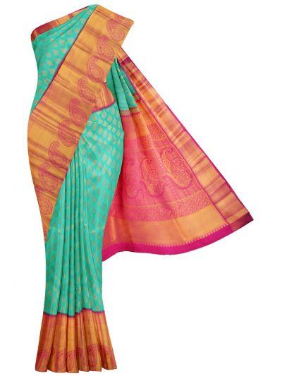 MKB9421862-Vivaha Goddess Wedding Pure Silk Saree
