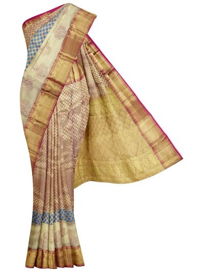 MKC9897819-Vivaha Kanchipuram Wedding Silk Saree