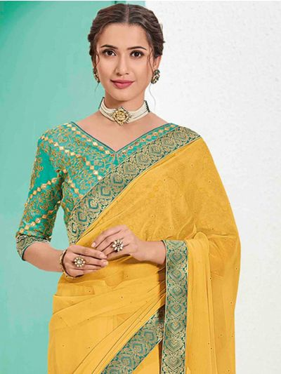 Kathana Fancy Sana Silk Saree With Embroidery Blouse - MFB2772185