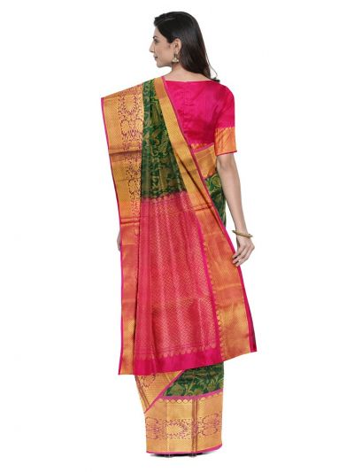 Chamelli Exclusive Kora Silk Cotton Saree - LEA7562499