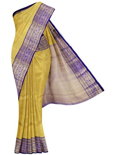 Vivaha Goddess Handloom Pure Kanchipuram Silk Saree - LGC9876178