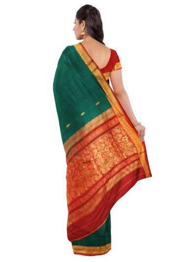 Chamelli Arani Silk Cotton Saree - LKC3713514