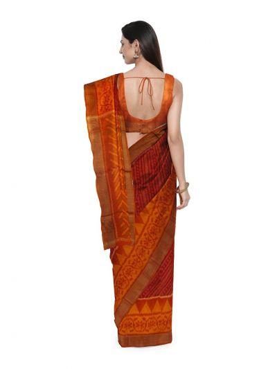 Chamelli Fancy Silk Cotton Saree-LLB6040886