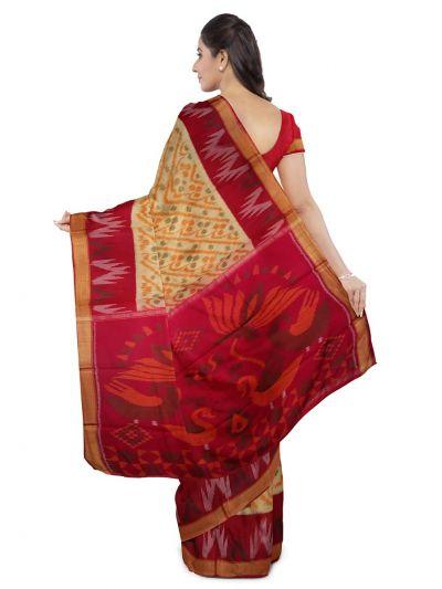 Chamelli Fancy Silk Cotton Saree-LLB6040891
