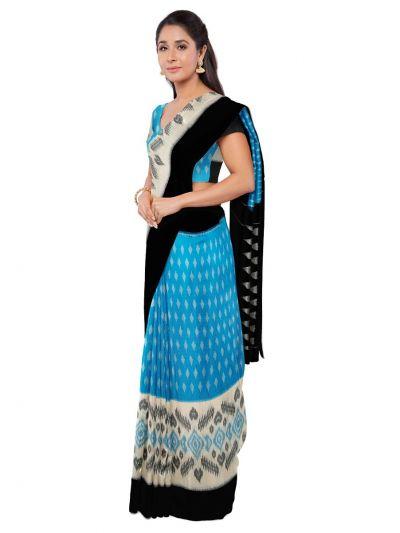Chamelli Fancy Silk Cotton Saree-MAB0754784