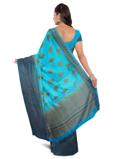 MAB1415031 - Sahithyam Tussar Silk Saree