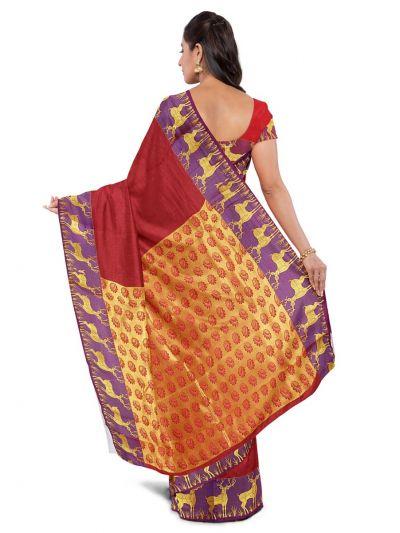 Bairavi Gift Art Silk Saree - MAC2716049