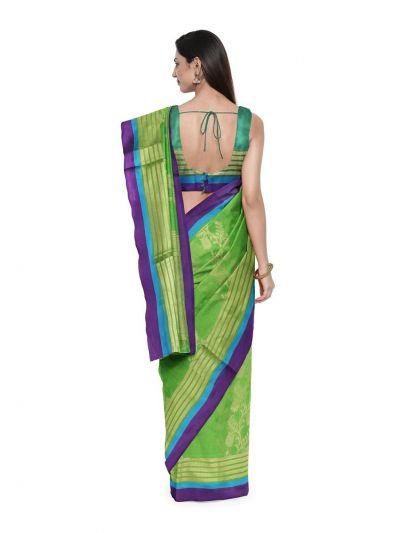 Chamelli Kora Silk Cotton Saree - MAE4263344