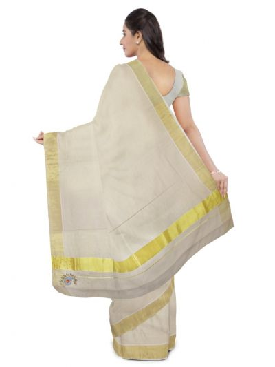 Fancy Kerala Cotton Saree - MBA4746474