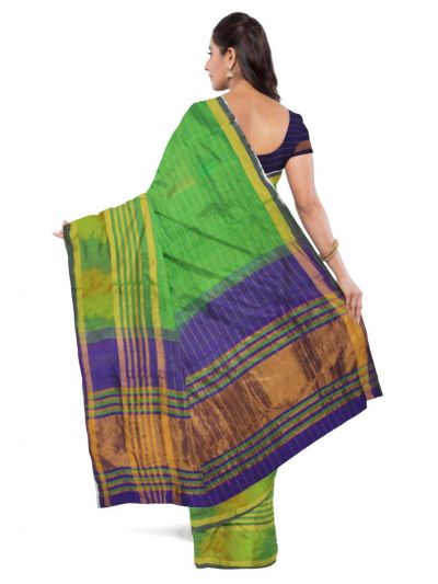 Chamelli Arani Silk Cotton Saree - MCA7835265