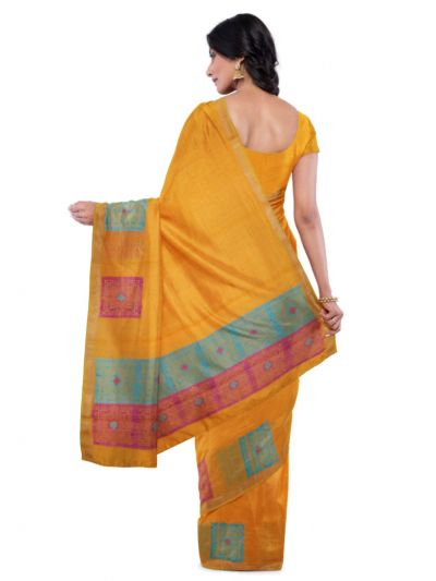 MCA8007378 - Chamelli Kora Silk Cotton Saree