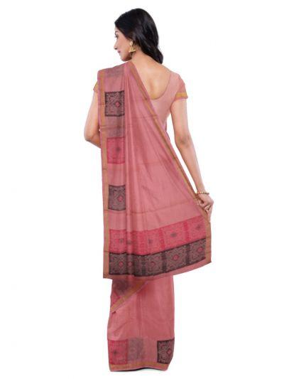 Chamelli Kora Silk Cotton Saree