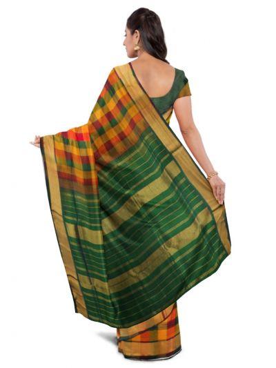 Chamelli Arani Silk Cotton Saree - MDA0827078