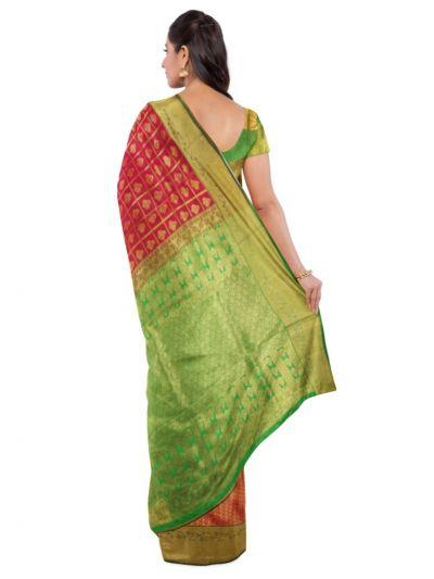 Bairavi Gift Art Silk Work Saree - MDB1406043