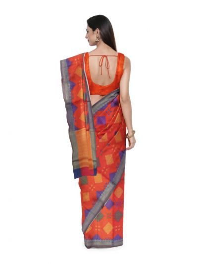 Fancy Kora Weaving Saree