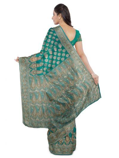 MDD2999361 - Kyathi Handloom Banarasi Silk Saree