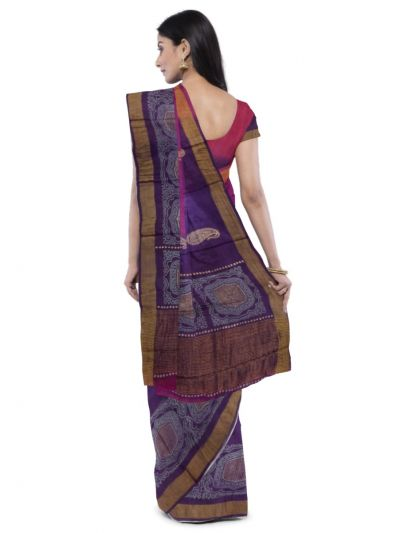 MDD3107645 - Sahithyam Tussar Silk Saree