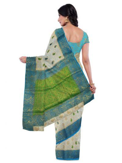 Kathana Fancy Raw Silk Zari Weaving  Saree - MFB2406942