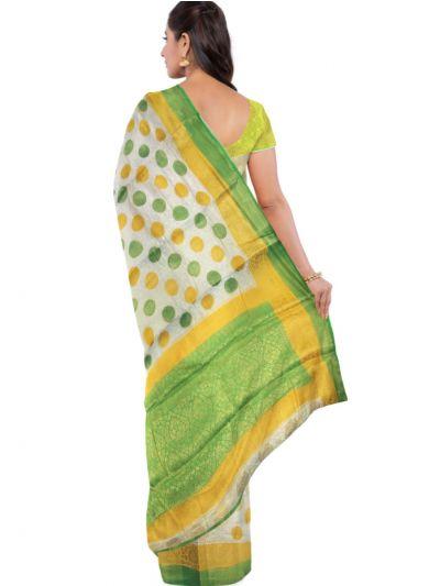 Kathana Fancy Raw Silk Zari Weaving Saree - MFB2406984